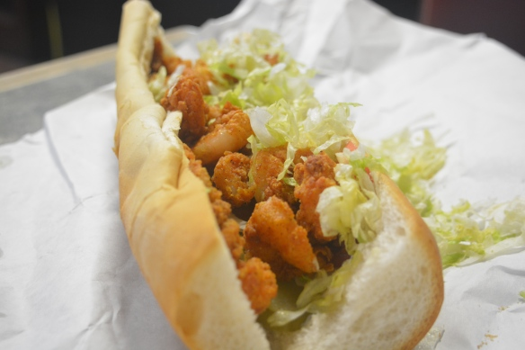 Fried Shrimp Poboy